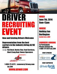 KRTS Recruiting poster