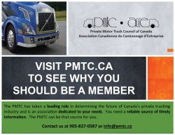 Join the Private Motor Truck Council of Canada